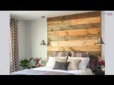 7 идей декора стены в изголовье кровати
