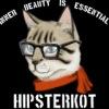 HipsterKot - inner beauty is essential