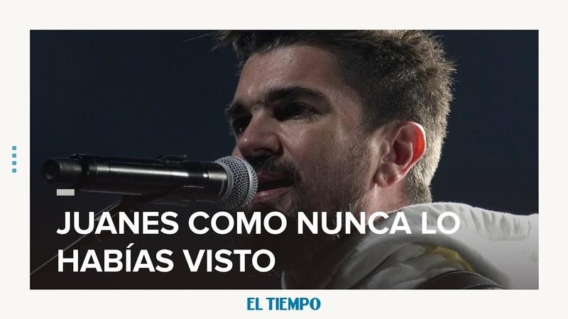 Así es Juanes en su intimidad | EL TIEMPO
