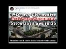 Chemnitz. 07.09.2018 18.30 Marx Monument.
