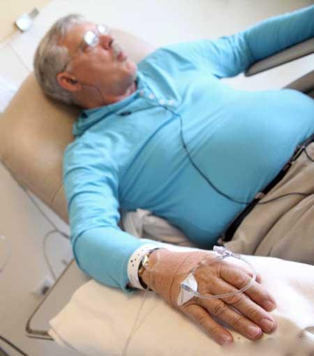 Лучевая терапия рака может использоваться в сочетании с химиотерапией для лечения некоторых форм рака