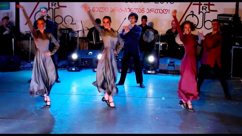 Сухишвили на Art-Gene - танец Сванури 13.07.2018