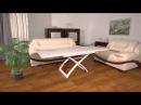 Раскладной деревянный стол трансформер Бигус