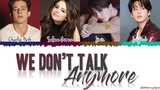 Jungkook, Jimin, Charlie Puth, Selena Gomez - 'We Don't Talk Anymore' Lyrics