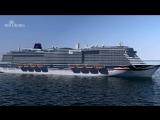 Лайнер IONA круизной компании P &amp O Cruises UK