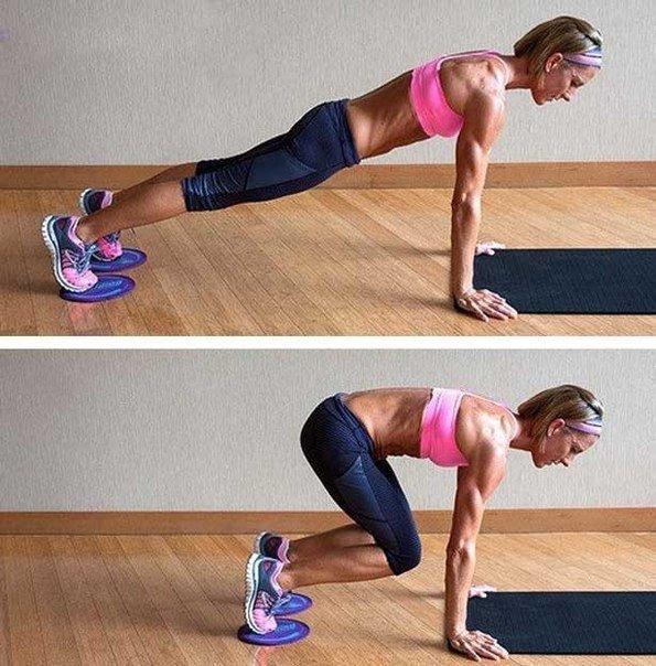 Упражнения для верхнего пресса для похудения
