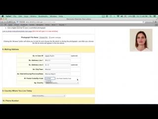Грин Кард Лотерея ПОШАГОВОЕ ЗАПОЛНЕНИЕ АНКЕТЫ Грин Карта DV 2019 Пошаговая Инструкция Green Card США