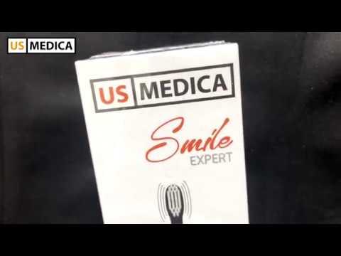 Электрическая зубная щетка US MEDICA SMILE EXPERT видео отзыв