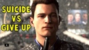Connor Suicide vs Give Up for Amanda - Detroit Become Human HD PS4 Pro
