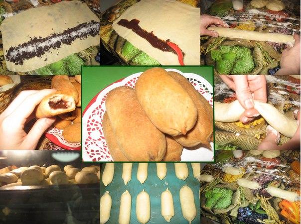 Тесто на пирожки на молоке с сухими дрожжами с фото
