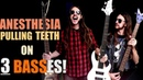 Anesthesia (Pulling Teeth) Played With 3 BASS GUITARS