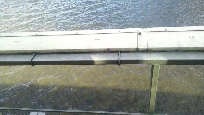 Пешеходный мост у Киевского вокзала.mp4