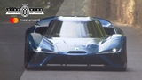 NIO EP9 leaves FOS in the dust