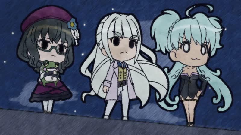 Превосходная Песня Валькирий: Симфогир AXZ (Senki Zesshou Symphogear AXZ) - OVA 03 [RuSubsDATTO]