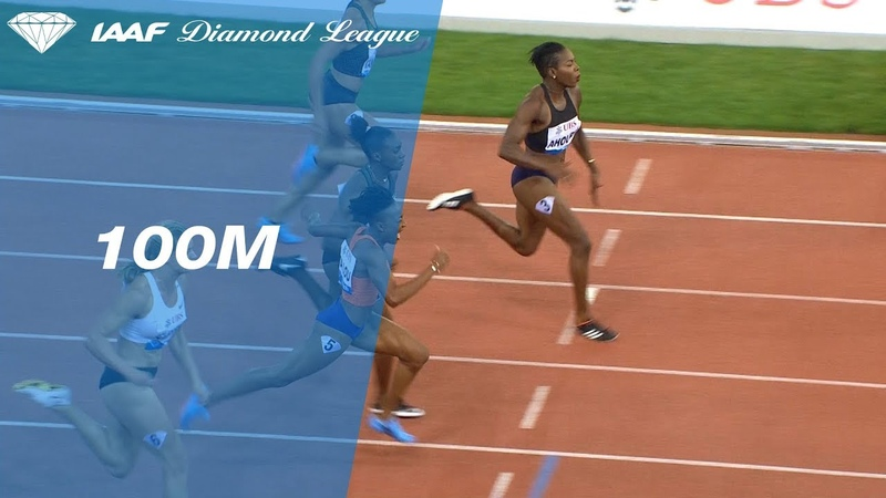 Murielle Ahouré Overpowers the 100 Meter Field to Win the Diamond League Final