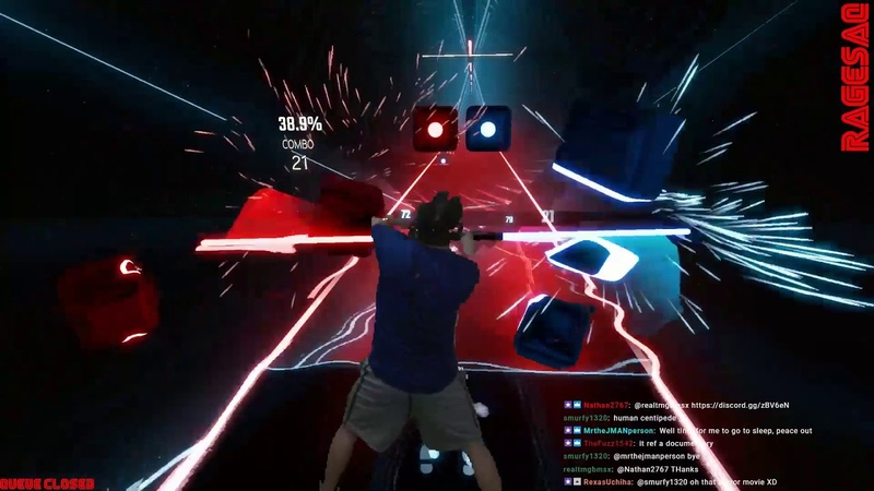 Beat Saber - Toxicity - Darth Maul style - Missing 80 notes still feels like victory