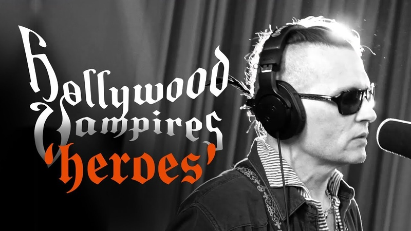 """Hollywood Vampires 'Heroes' from the album """"Rise"""" out June 21st"""