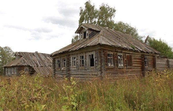 вымирающее село