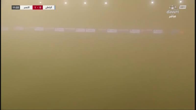 1836 Саудовская Аравия. Песчаная буря. 19 октября 2018.