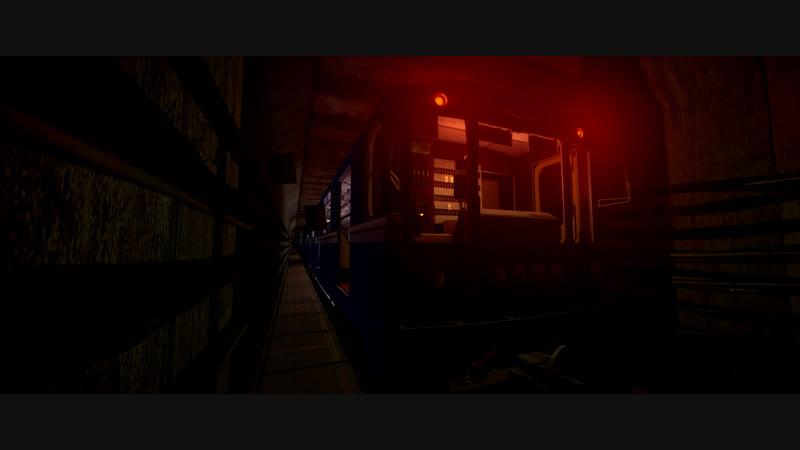 Metrostroi Ламповая поездка по Crossline Remake