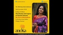 Beauty Legacy of Vilasini Natyam Purva Dhanashree 38th NKC 2018 Aneka Day 3