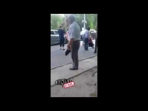 Инцидент в Кишиневе на улице Трандафирилор