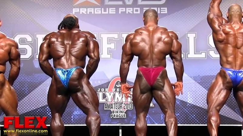 Kai Greene Dexter Jackson Branch Warren @ the EVL´S PRAGUE PRO 2013