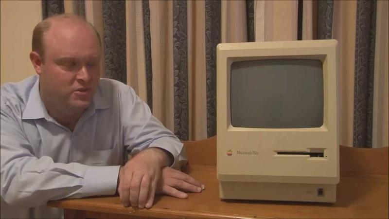 Apple Macintosh Plus (1986) Full Tour, Start Up and Demonstration