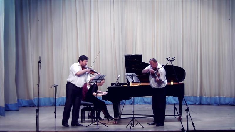 Александр фон Цемлинский - Трио для фортепиано, кларнета и виолончели ре минор, I часть