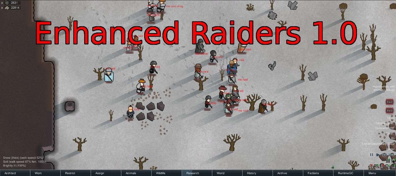 Enhanced Raiders