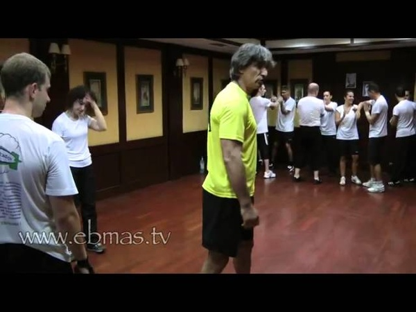 WING TZUN Centre Line and Footwork Punching Drill
