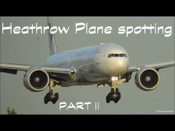 London Heathrow Plane Spotting Compilation. (27Right Arrivals) PART 2