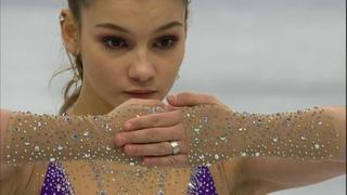 Софья Самодурова— чемпионка! Произвольная программа. Женщины. Чемпионат Европы пофигурному катанию 2019