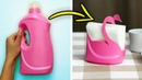 25 AWESOME DIYS FROM PLASTIC BOTTLES