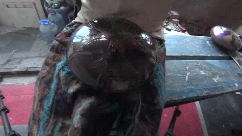Бутон 22cm 8 лепестков гравировка