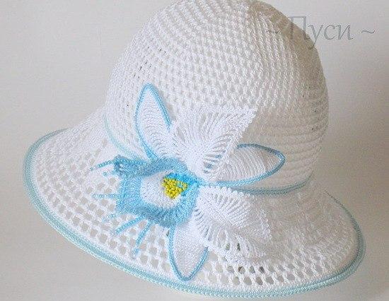 Великолепная шляпа-панама с