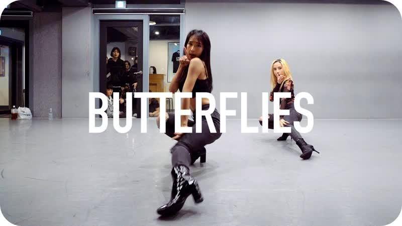 1Million dance studio Butterflies - Queen Naija / Mina Myoung Choreography