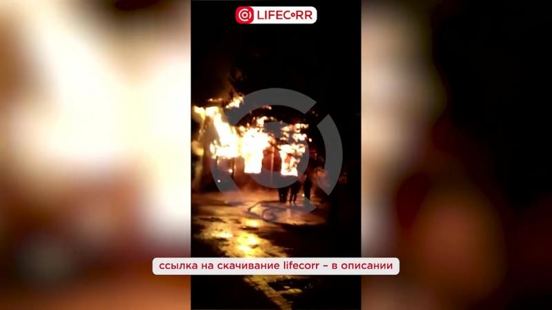 Пожар в гостинично-развлекательном комплексе в Голицыно
