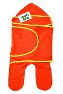 Комбинезон-конверт трикотажный Mam's Era, оранжевый/желтый.