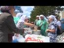 Идут за супом и добрым словом: в Альметьевске раздают бесплатные горячие обеды нуждающимся