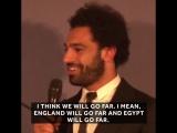 Mohamed Salah has faith in an Egyptian World Cup run 🇪🇬