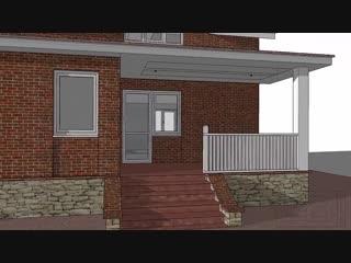 Дом на 2 семьи - Проект « Дача »