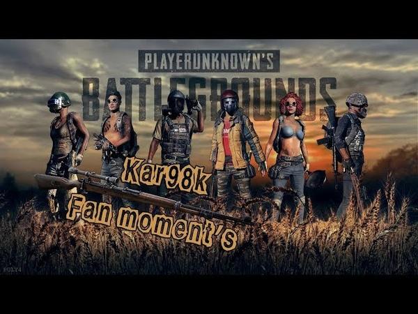 PUBG: FUN MOMENT'S ! Kar98k HEAD SHOOT!