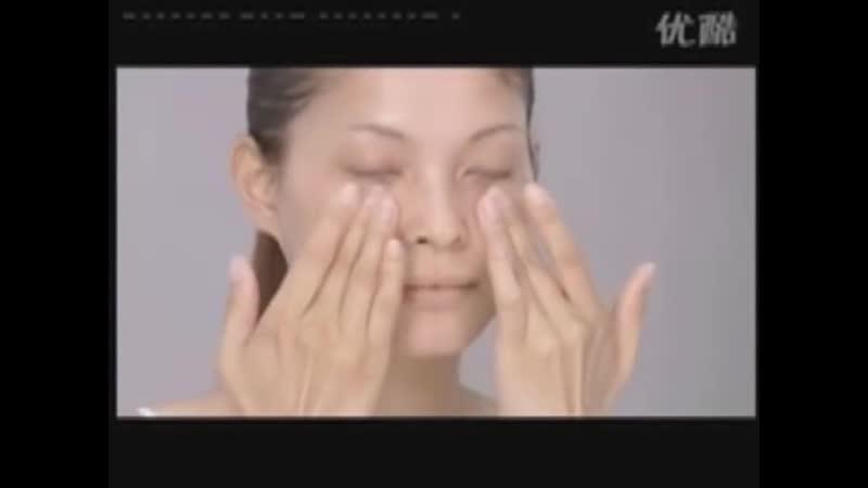 Японский лимфодренажный массаж лица