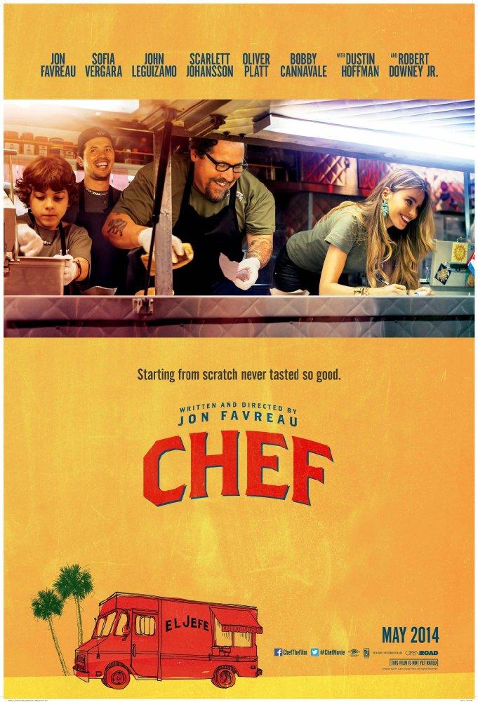 შეფმზარეული / Chef (2014)