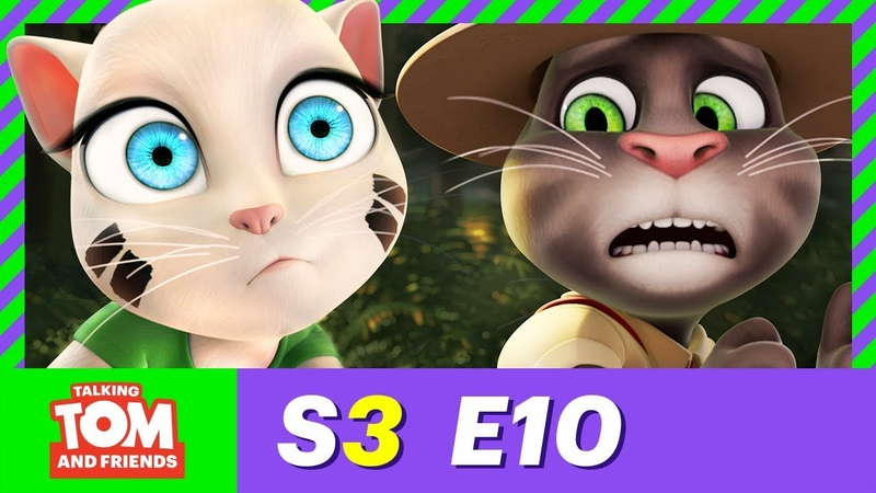 NEW! The Lost Scouts - Talking Tom and Friends | Season 3 Episode 10
