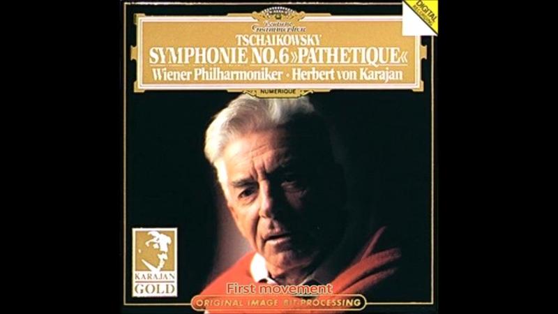 Tchaikovsky - Symphony No.6 Op.74 Pathetique Karajan Vienna Philharmonic