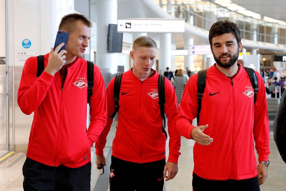 «Спартак» вылетает в Вену без Глушакова и Ещенко