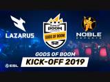Gods of Boom Kick-off 2019 - Meet your Heroes