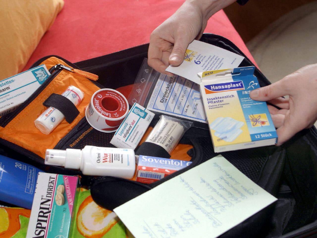 Необходимые лекарственные средства во время путешествия?